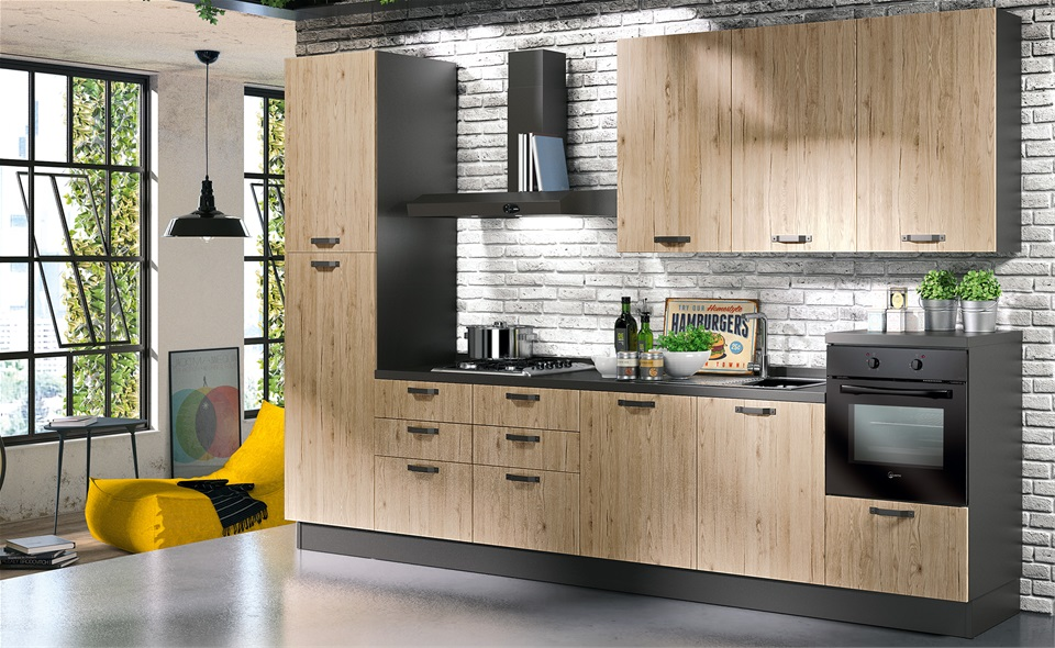 Mondo Convenienza Outlet. Top Bella Lube Cucine Linea Economica ...